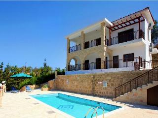 Idyllic 3 bdr villa with stunning mountain views - Miliou vacation rentals