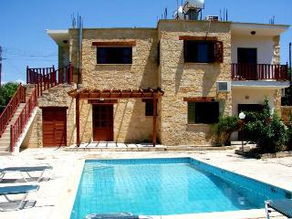 5 bedroom stone built villa with pool - Miliou vacation rentals