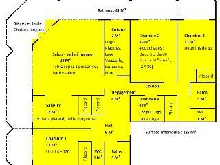 Standing KerSuzer Esplanade Benoit 125M² 3chambres - La-Baule-Escoublac vacation rentals