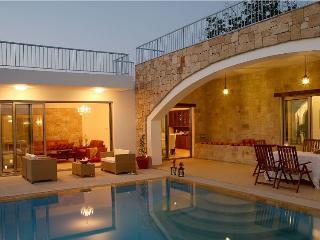Picturesque 3 bdr villa with pool + indoor jacuzzi - Miliou vacation rentals