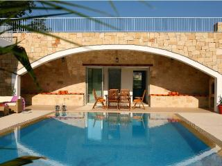 Secluded villa, private pool, mountain views - Miliou vacation rentals