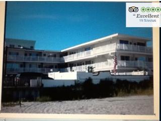 Oceanfront 2 bedroon beautiful condo! - Wildwood Crest vacation rentals