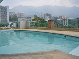 Poblado 2/2 w/Views and Pool! 0166 - Medellin vacation rentals