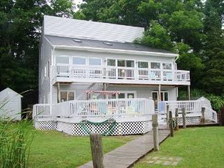 Large Multi-Level Waterfront Home. Sleeps 12. Downtown Douglas steps away! - Holland vacation rentals