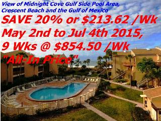 Sun, Sand & *SAVE 20% or 35%* Midnight Cove #714 - Siesta Key vacation rentals