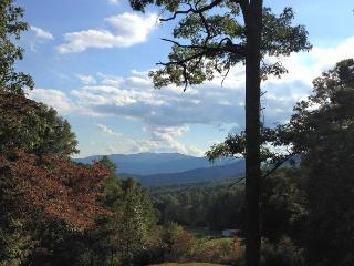 Bruins Den – Spacious Group Rental with Fire Pit, View, Hot Tub, and Wi-Fi Just 10 Minutes from the Great Smoky Mountains Railroad - Bryson City vacation rentals