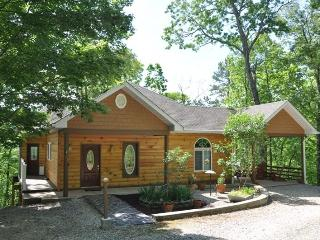 Ridge Runner Retreat Lovely Log Rental Less than 10 Minutes from Fontana Lake and Almond Marina with Wi-Fi, Hot Tub, and 2 Gas F - Bryson City vacation rentals