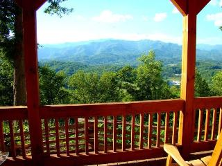 Wind Song Cabin - Beautifully appointed with gorgeous long range view from indoors or out. Quiet and Secluded with Internet - Bryson City vacation rentals