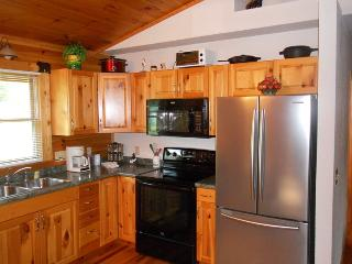 Bears Den -- Authentic Log Cabin Minutes from the National Park and Casino with Wi-Fi, Hot Tub, and Fire Pit on Wide Meadow - Whittier vacation rentals