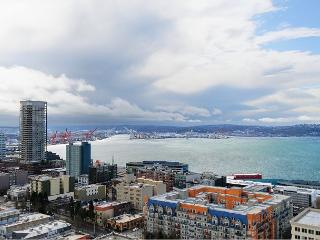 Gorgeous plush 25th floor apartment with stunning water and city views! - Seattle vacation rentals
