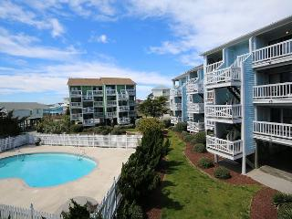 Seascape D20-Bright and beachy ocean view one bedroom condo on the North End - Carolina Beach vacation rentals
