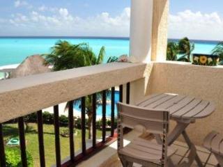 3rd floor! Oceanfront 2 bedroom in Xaman Ha (XH7205) - Playa del Carmen vacation rentals
