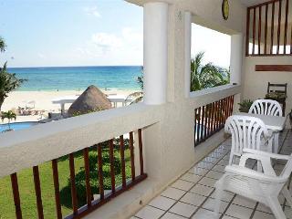 Oceanfront with pool 2 bedroom in Xaman Ha (Xh7206) - Playa del Carmen vacation rentals