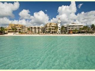 Elegant 3-Bdrm Beachfront Condo (CM201) - Playa del Carmen vacation rentals