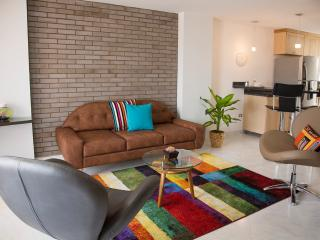 Gorgeous 2 Bed.2 Bath apt. with free bike. - Medellin vacation rentals