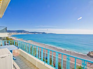 Top floor 1 bedroom apartment best sea view Nice - Nice vacation rentals