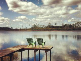 Grasshopper Lodge Rustic HandCrafted Cabin Florida - Astor vacation rentals
