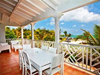 CAMILLE at CARIBBEAN PRINCESS B5... gorgeous affordable beachfront condo with - Orient Bay vacation rentals