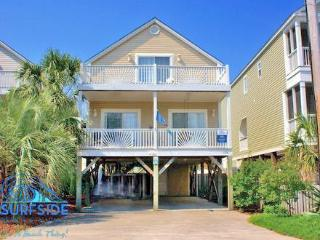 Cozy House with Shared Outdoor Pool and Porch - Surfside Beach vacation rentals