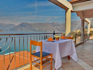 Beautiful Sea View Kotor Bay Apartment - Dobrota vacation rentals