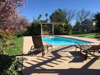 Eat Drink & be Merry! Nothing but  the best in downtown Paso  on 1.75 acres - Paso Robles vacation rentals
