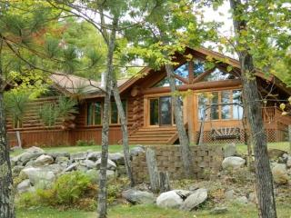 Maple Leaf Lodge: Modern Year-Round Log Home with Enclosed Pool on Eagles Nest Lake #3 - Ely vacation rentals