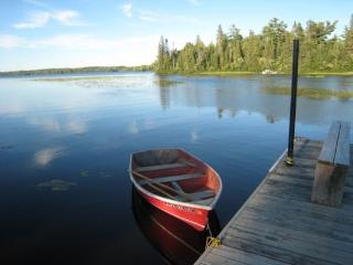 White Iron Hideaway: Hand Built Log Guest Cabin in Quiet Bay on White Iron Lake - Ely vacation rentals
