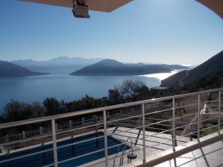 Breathtaking views from pool - Herceg-Novi vacation rentals