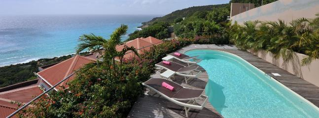 Villa Gouverneur Cliff SPECIAL OFFER: St. Barths Villa 159 This Brand New Villa Has A Superb Ocean View On Gouverneur Beach. - Gouverneur vacation rentals
