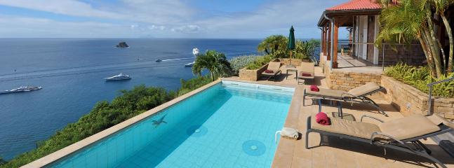 SPECIAL OFFER: St. Barths Villa 162 The Sun Addicts Will Love The Pool And The Terrace. - Anse des Flamands vacation rentals