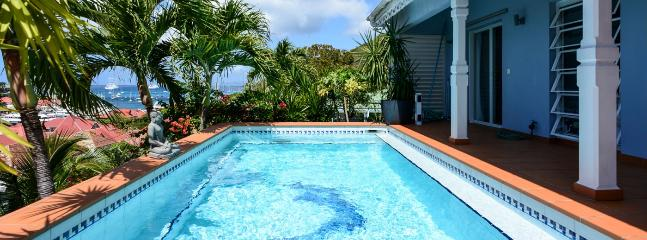 Villa Le Marlin SPECIAL OFFER: St. Barths Villa 170 Ideally Situated In The Heart Of Gustavia, In St. Barth In The French Antill - Saint Barthelemy vacation rentals