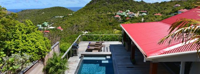 SPECIAL OFFER: St. Barths Villa 168 The Villa, Fully Renovated, Has A Very Nice Hillside And Ocean View. - Saint Barthelemy vacation rentals