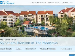 Affordable Luxury - Wyndham's Branson the Meadows - Branson vacation rentals