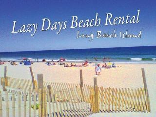 lazy days beach rental long beach island - Beach Haven vacation rentals