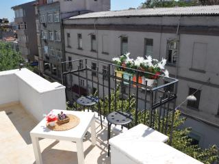COOL 77M2 FLAT WITH BIG TERRACE IN TAKSIM -GALATA - Istanbul vacation rentals
