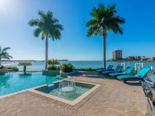 LUXURY Living Estates home on Caxambas Pass with open water views of the Gulf of Mexico - Marco Island vacation rentals