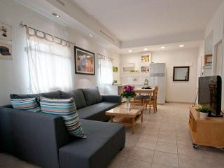 2 bedrooms, perfect central location, private roof - Tel Aviv vacation rentals