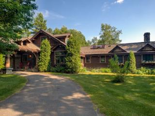 Spacious Lake Placid Adirondack Camp offering privacy and spectacular views of - Lake Placid vacation rentals