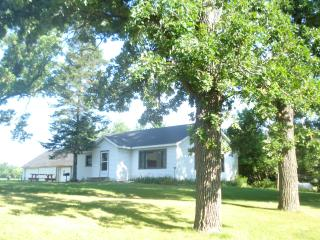 Country home with flowing river by Wisconsin Dells - Marquette vacation rentals