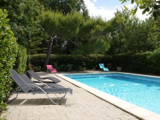 Quiet Hill:Villa-swimming pool-big wooden park - Mazan vacation rentals