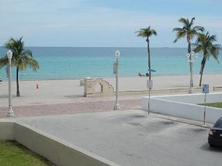 FULL OCEAN VIEW BEACHFRONT CONDO, All New 1/1 for 4, WIFI & Parking included - Hollywood vacation rentals