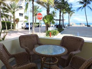 Ocean View Condo for 4 1/1 Hollywood Beach & Broadwalk WIFI,  Seabreeze #1 - Hollywood vacation rentals