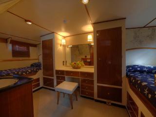 Deramore classic motor yacht master cabin - Punta Ala vacation rentals