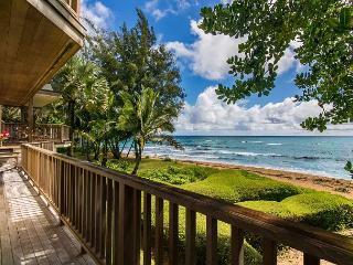 Gorgeous Beachfront Haena Home!! Amazing views and location - Hanalei vacation rentals