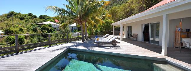 SPECIAL OFFER: St. Barths Villa 182 An Amazing View On The Lagoon Of Grand Cul De Sac. - Saint Barthelemy vacation rentals