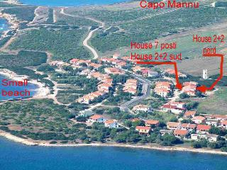 Apartament 150Mt sea 2+2 Bed Capo Mannu Sardinia - Oristano vacation rentals