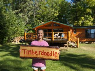 Timberdoodle 1 bedroom sleeps 6 - Turtle Lake Vintage Log Cabins the Timberdoodle - Bigfork - rentals
