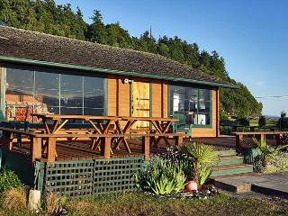 Unique 3 bedroom beachfront Pan-Abode log cabin for an unforgettable getaway - Whidbey Island vacation rentals