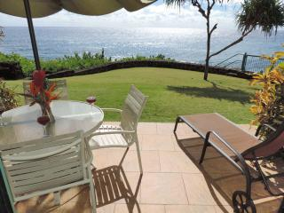 Poipu Shores 104C, 2BR OCEANFRONT Large Townhome - Poipu vacation rentals