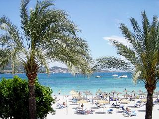 Beach front apartment (newly renovated!) - Majorca vacation rentals